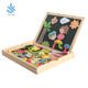 YF-M532 OEM accept factory hot sale popular Wooden Erasable folding magnetic drawing board toys for kids