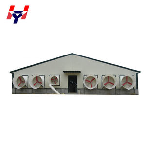 Ghana Low Cost Prefabricated Broiler Poultry Farm House Design