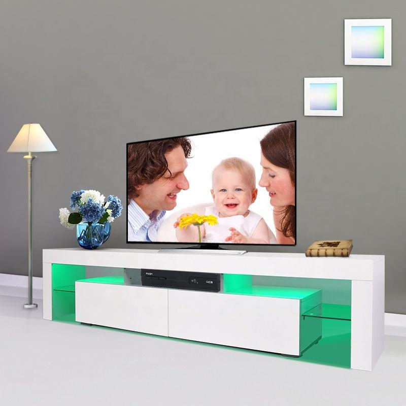 SG-LL34 Modern Living Room di alta gloss <span class=keywords><strong>TV</strong></span> Stand