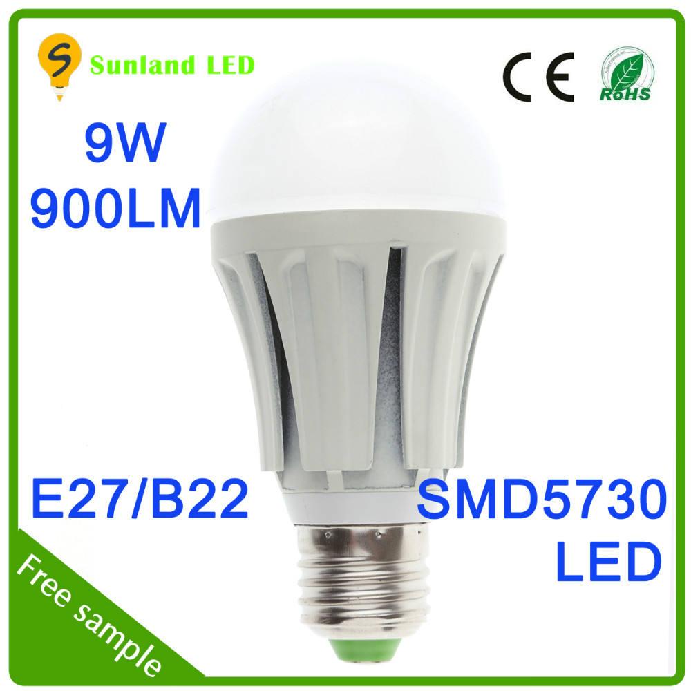 2015 prezzo poco costoso bianco caldo ce rohs smd5730 g9 ha condotto la lampadina 120 v 9 w