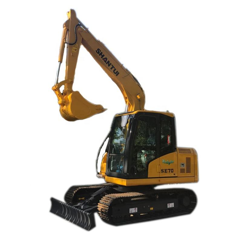 CE Certificate SHANTUI SE80 mini new excavator for sale
