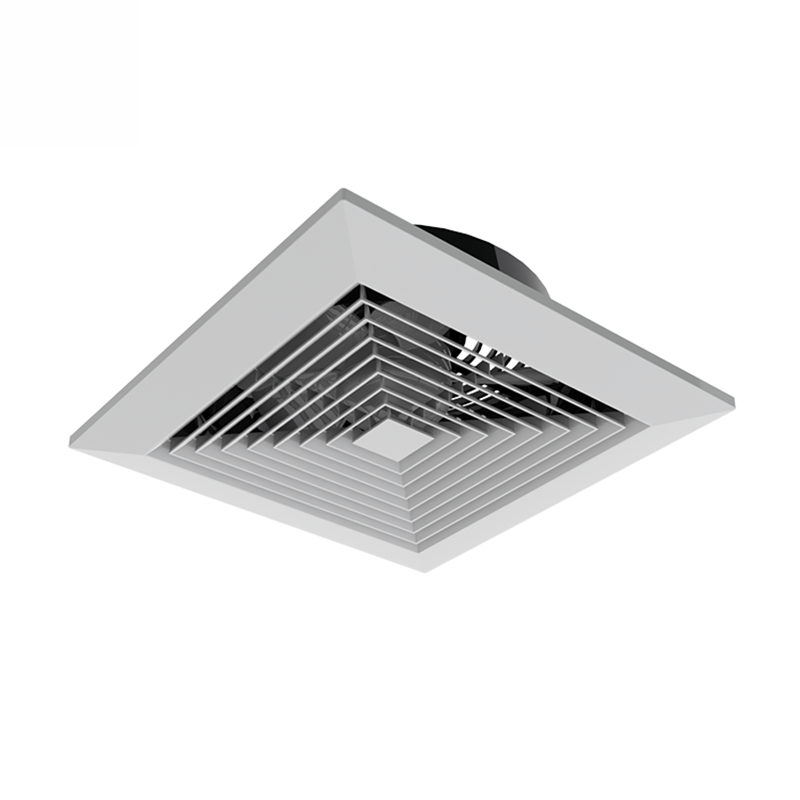 AC Powered ductles type ceiling mounted exhaust fan POPULA APT 25-S with 36W 900CBM 42dB 320X320mm suggestiv hole size and 1.6kg