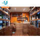 China Guangzhou Factory Wholesale Modern Whiskey Display Cabinet