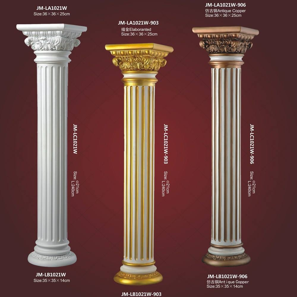 High Quality Good Price Beauty polyurethane decorative PU building design pillar