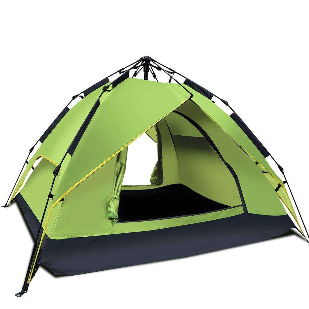 Automatic 2-3 Person 3 Season Waterproof Camping Tent