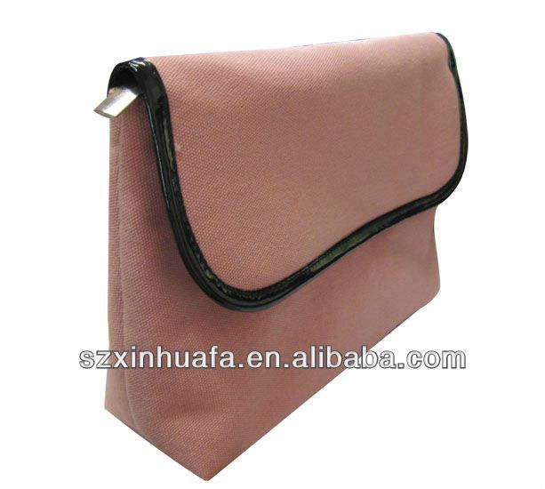 ( xhf- cosméticos- 400) de moda bolsa de cosméticos 2013 con cierre de botón
