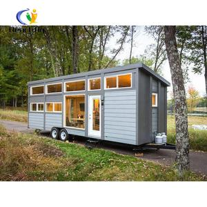tiny mobile homes lowes prefab home kits on wheels Trailer Houses