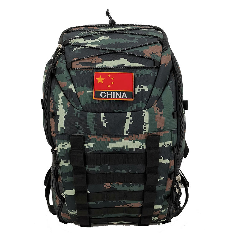 Brand Names Outdoor High Capacity Durable Camouflage Military Waterproof Hiking Backpack