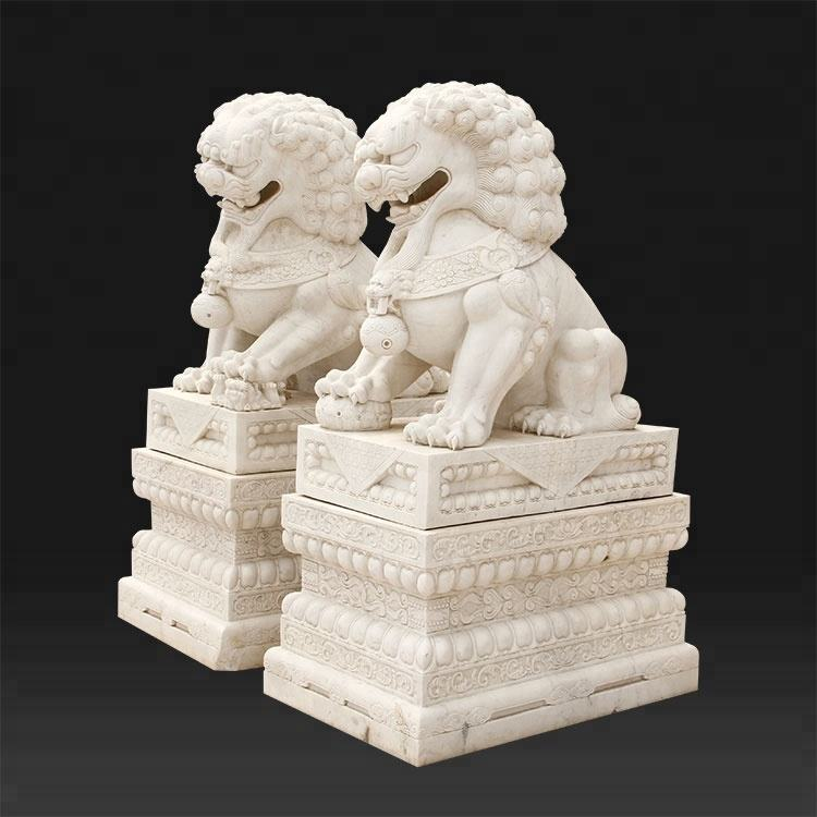 factory price stone carving marble lion statue for sale