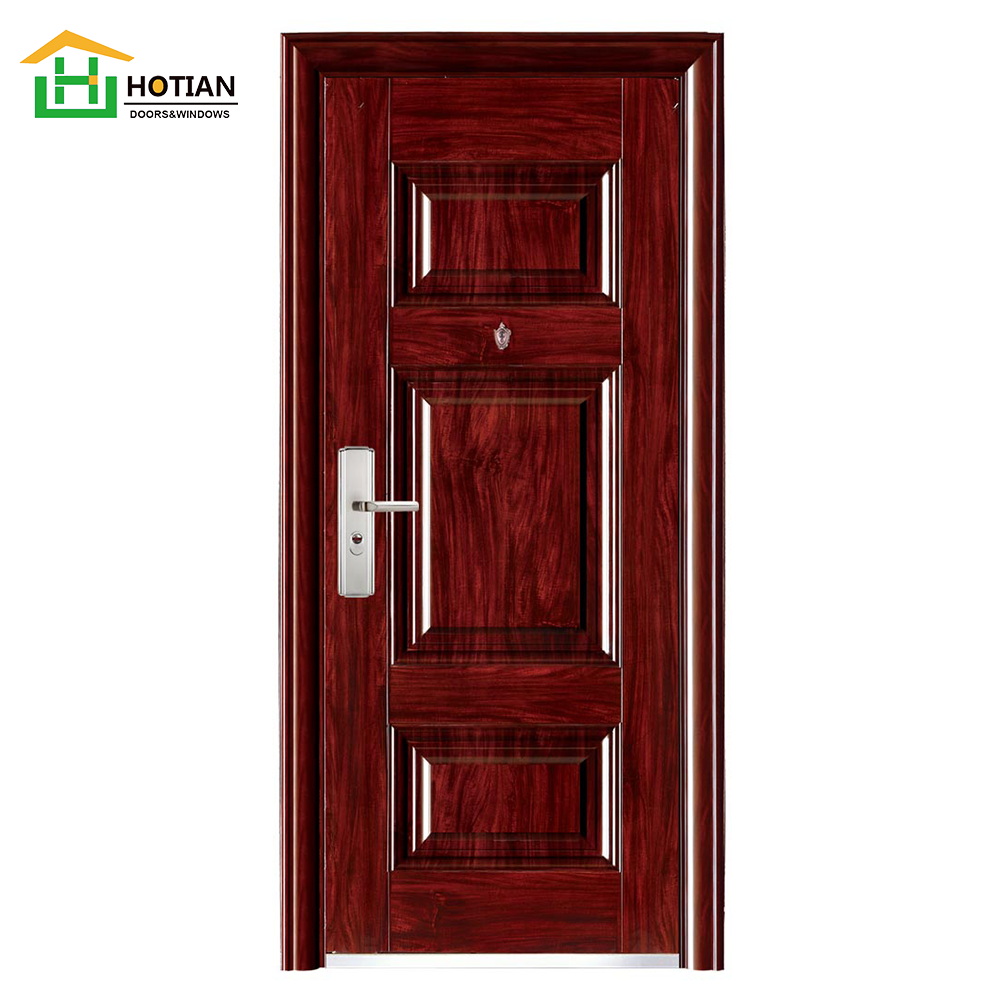 High Quality Steel Single Entry Door Factory Direct Metal Door And Frames Can Customize 48 Inch Exterior Steel Doors