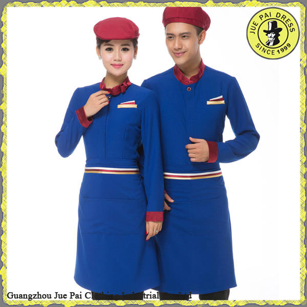 Unisex Hotel uniforme de Chef/restaurante uniformes