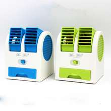 Mini air cooler fan small fan with drawer