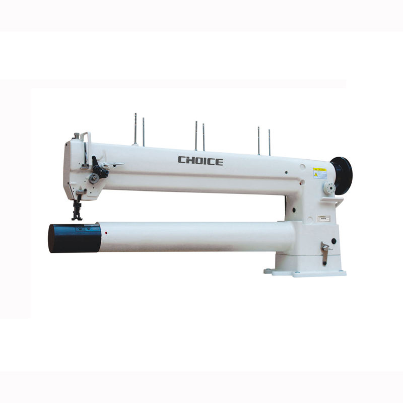GC8341-760 Golden Choice Double needle free-arm lockstitch sewing machine for filter bags