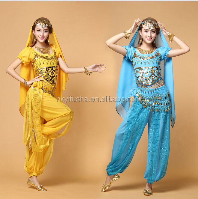 Bollywood dance costume Indian dance costume belly dance costume