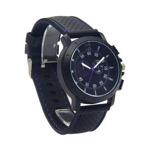 Relogio Masculino Luxury Relojes Quartz Mens silicone Watch top wrist watches