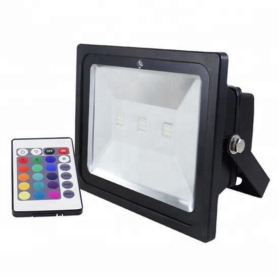 Memory function color changing 150 watt rgb led flood light ip65