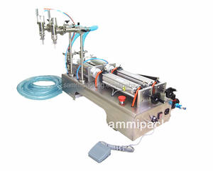 Cheap Price Double heads semi-automatic liquid filling machine for shampoo,bath gel,liquid detergent