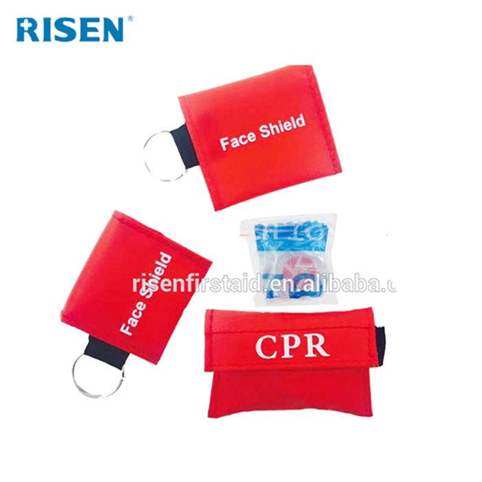 Taschenformat ausbildung <span class=keywords><strong>cpr</strong></span> <span class=keywords><strong>maske</strong></span> schlüsselbund mit FDA CE ISO