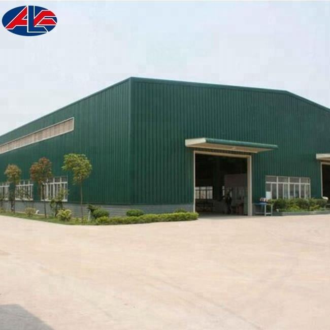 Fabricated Steel Building Warehouse Construction Materials