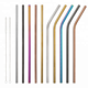 Drinking Straw Amazon Hot Sale Stainless Steel Straight Bent Drinking Beverage Straw For Home Bar