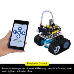 Keyestudio UNO R3 DIY Mini Tank Smart Robot car kit for Ardu