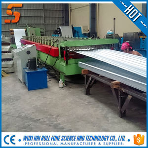 Iron corrugated Sheet Rolling Machine