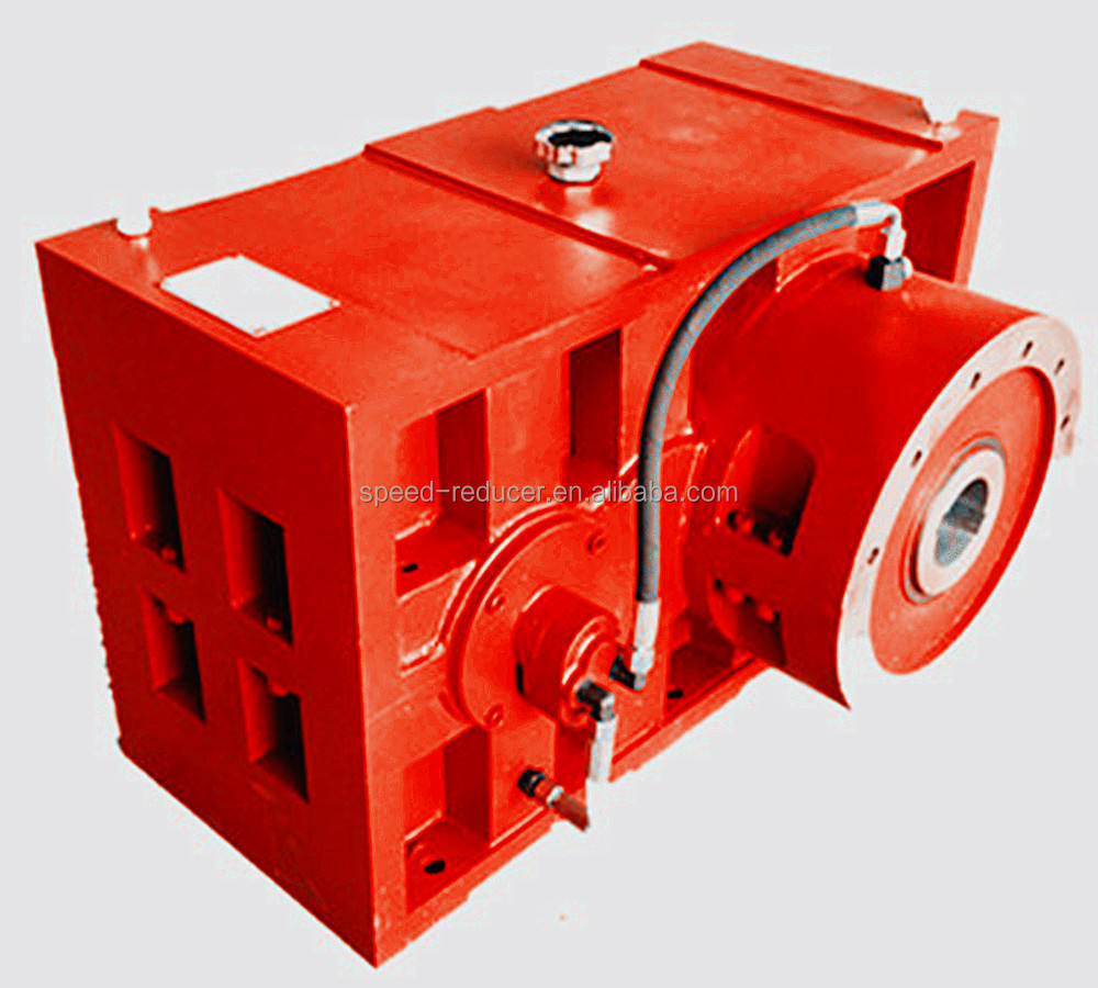 ZLYJ Plastic machine screw barrel extruder speed reduction gear box