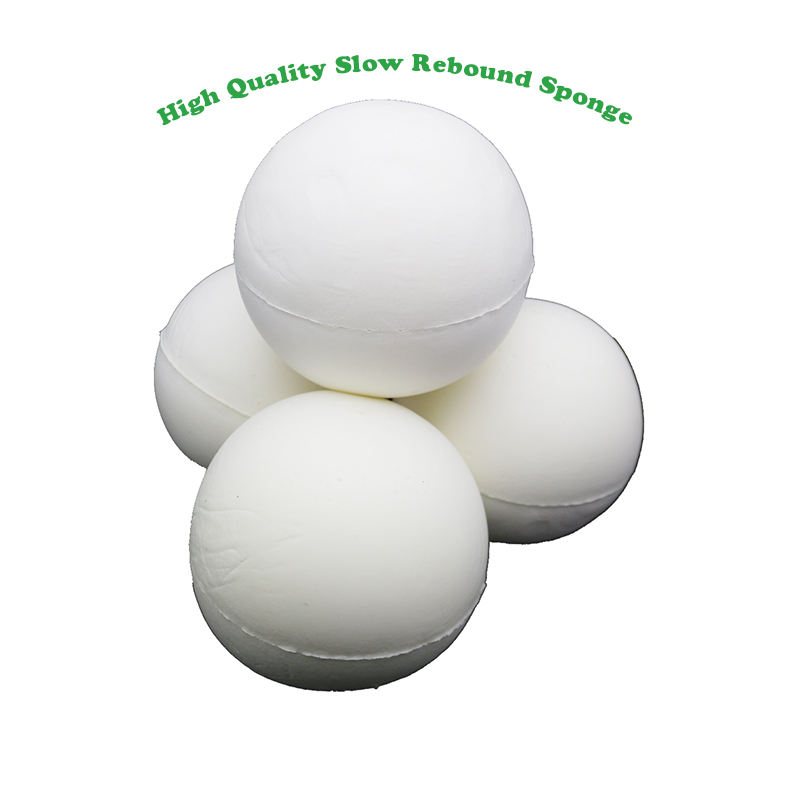 Soft Round Shape Toy Sponge Hand Squishy Slow Rising Toy Sponge Stess Ball