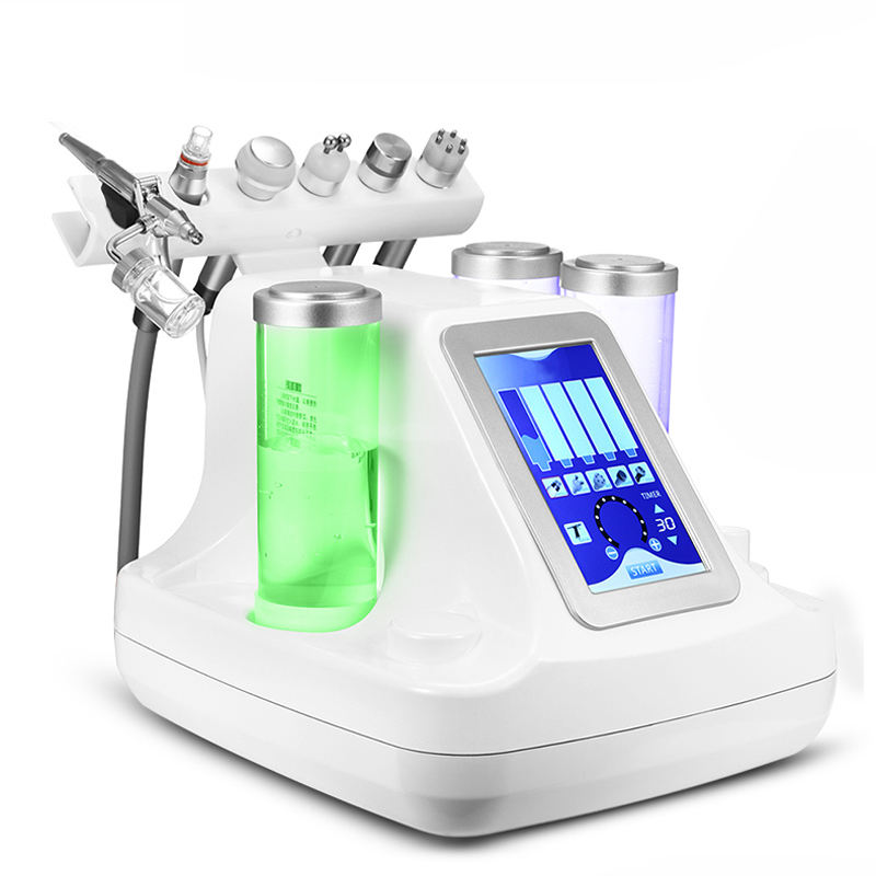 Factory Price 7 in 1 LED Mask Hydra Dermabrasion Peel Ultrasound Skin Tightening Machine for Sale