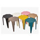 China new design commercial furniture plastic bar chair stool modern design pp plastic bar stool Wholesale colorful bar stool