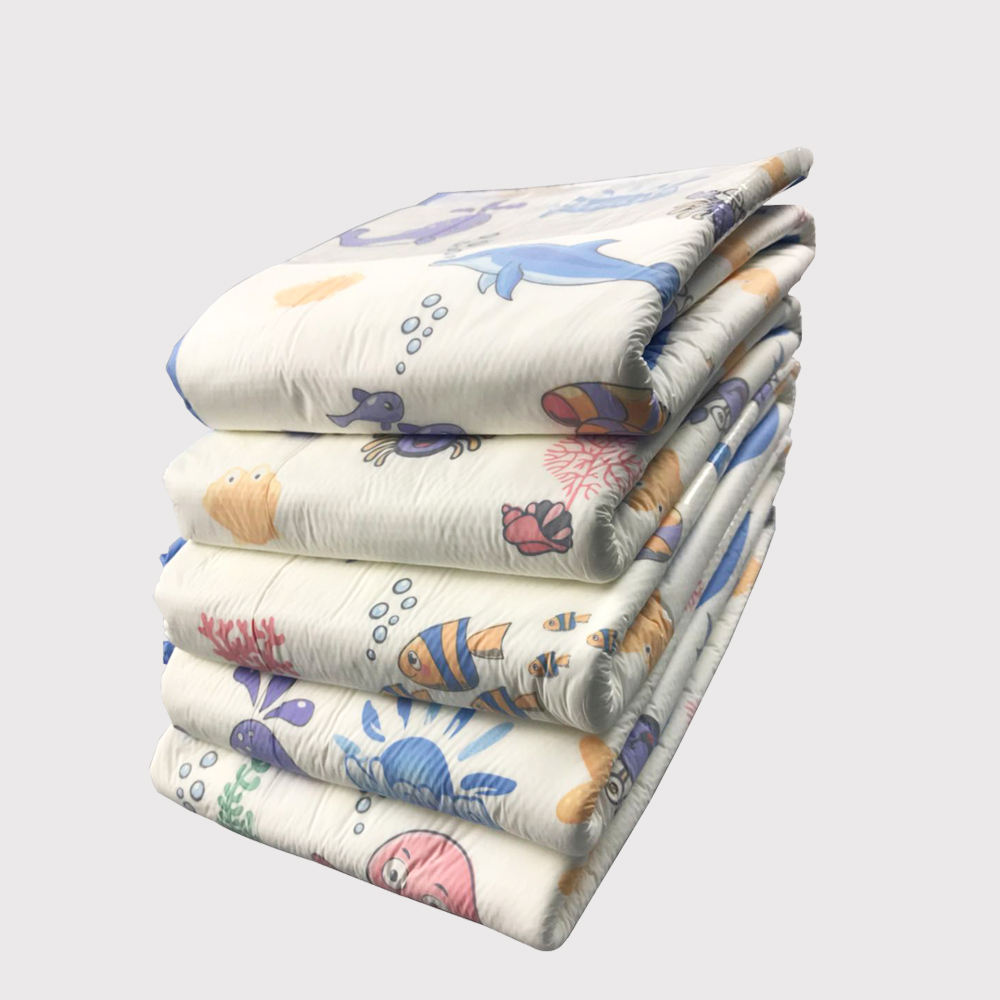 Ultra Thick Print large size ABDL thick adult diaper underwear heavy duty adult diapers elastic diaper