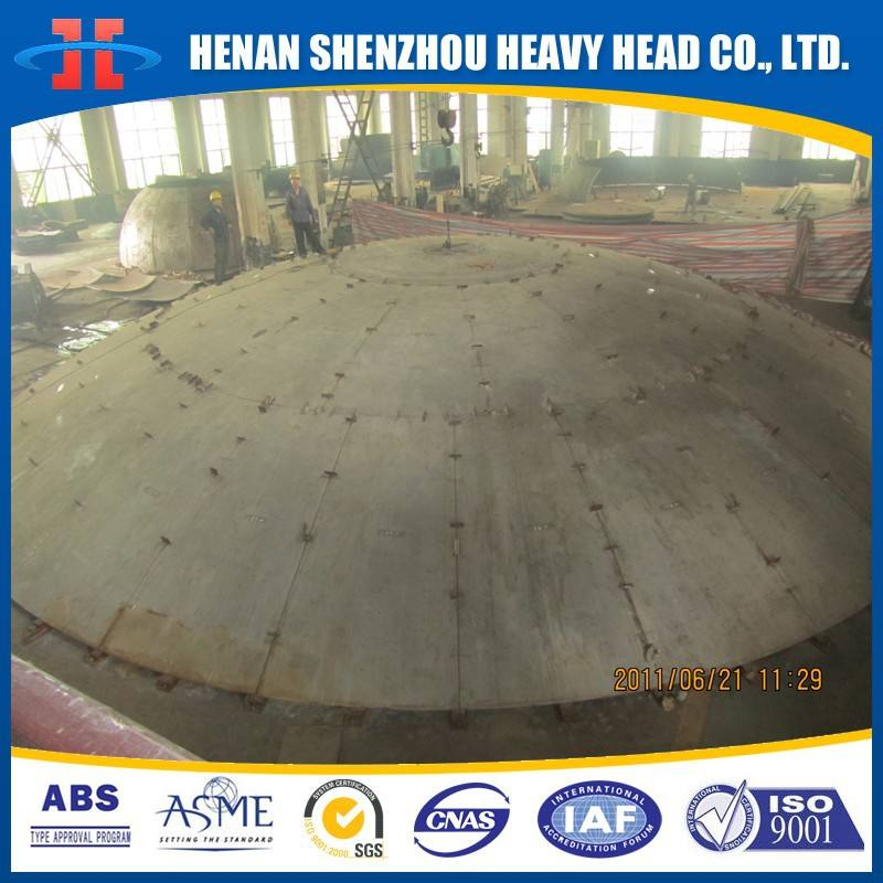 Carbon Steel Forming Dished Only Ends For Boilers Pressure Vessel