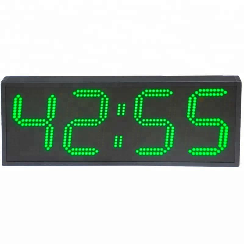 Outdoor Waterdichte 4 Digit LED Sport Timer Digitale GYM Crossfit Timer