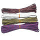 6mm Multi-color Stretch Elastic Flat Rope Cord Colorful Latex Bands For Shoes