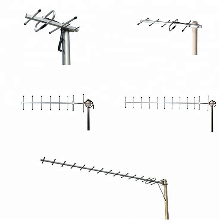 Hoge Kwaliteit Outdoor 600 Mhz Yagi Antenne Lange Afstand 3 5 8 12 15 Elements High Gain