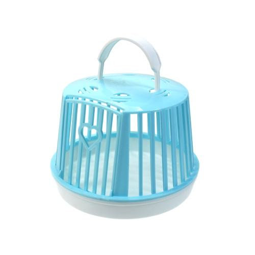 2018 New Products Simple Portable Plastic Hamster Cage with Hanger Small Animal Accessories Pet Shop Products Amazon Top Seller