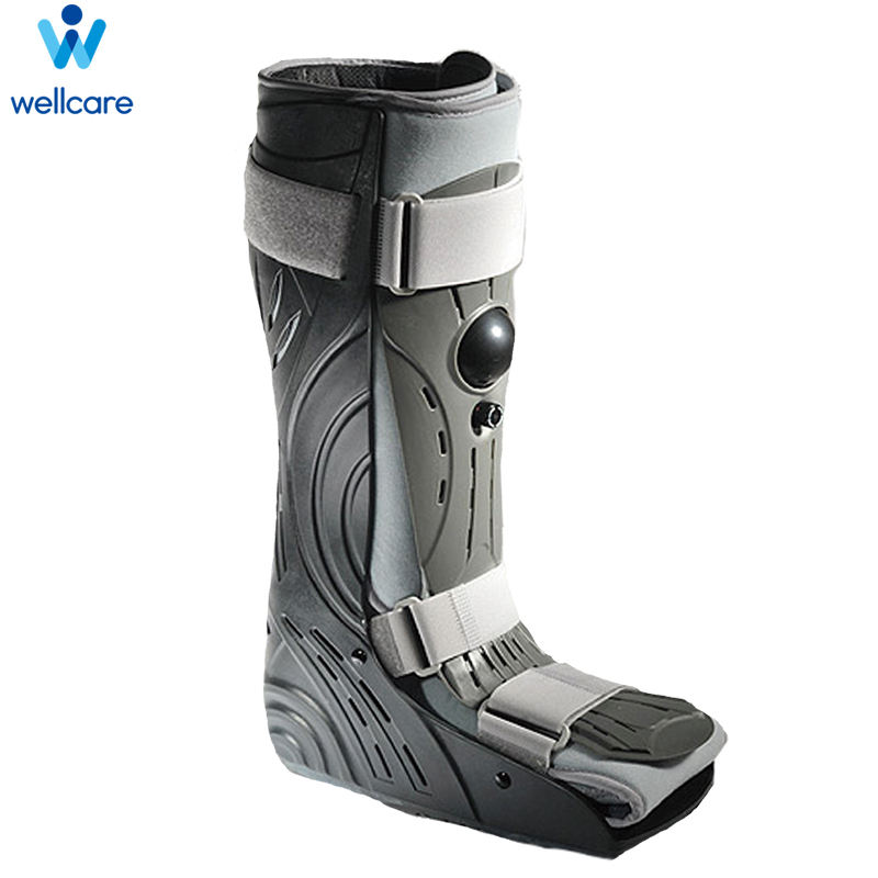 Wellcare 62011 Power Walking Boot Adjustable Postop Penjepit Pergelangan Kaki Dukungan
