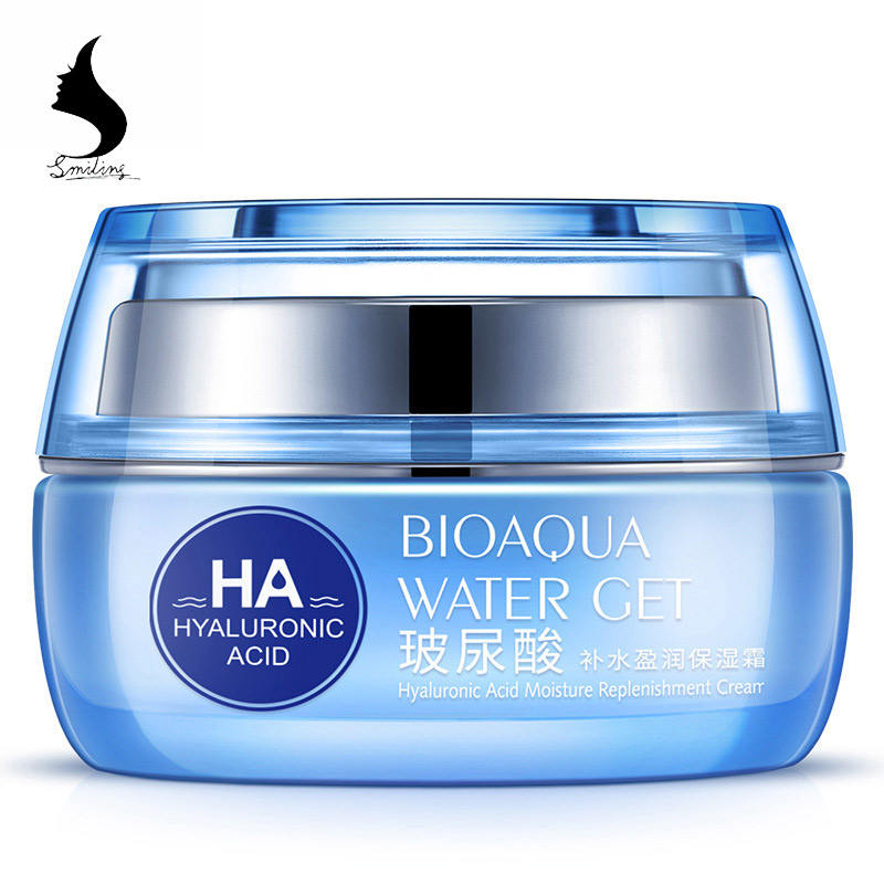 BIOAQUA Hyaluronic Acid day creams & moisturizers Replenishment Cream face skin care Whitening skin HA anti aging anti wrinkles