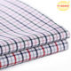 Wholesale custom plaid dyed woven textile fabric high quality 100 shirt cotton fabric