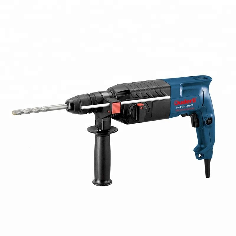 HEAVY DUTY 1580W ROTARY HAMMER ELECTRIC DRILL 220V CHISELS /& BITS CARRY CASE