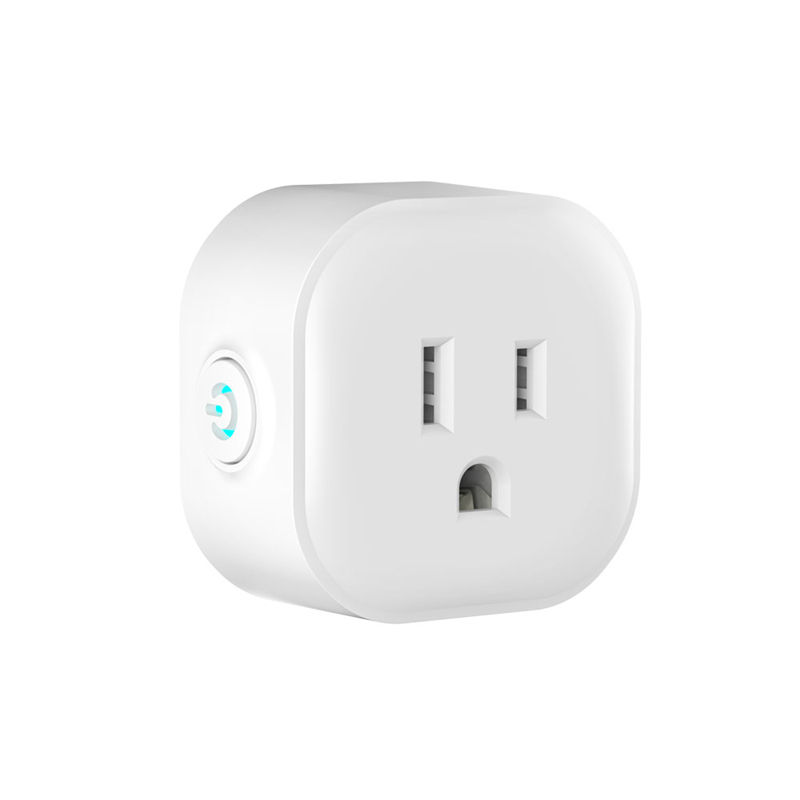 Square Type US Socket Smart Wifi Mobile APP Remote Control Support Amazon Alexa Google Home