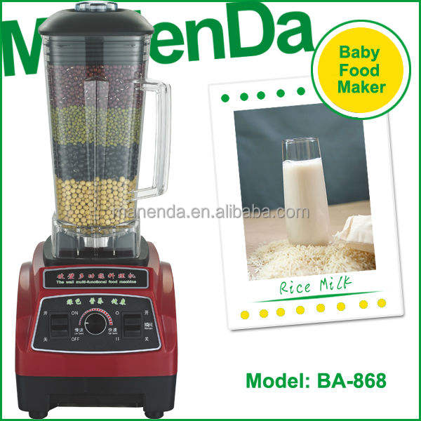 manend grote capaciteit 7 in 1 draagbare smoothie blender