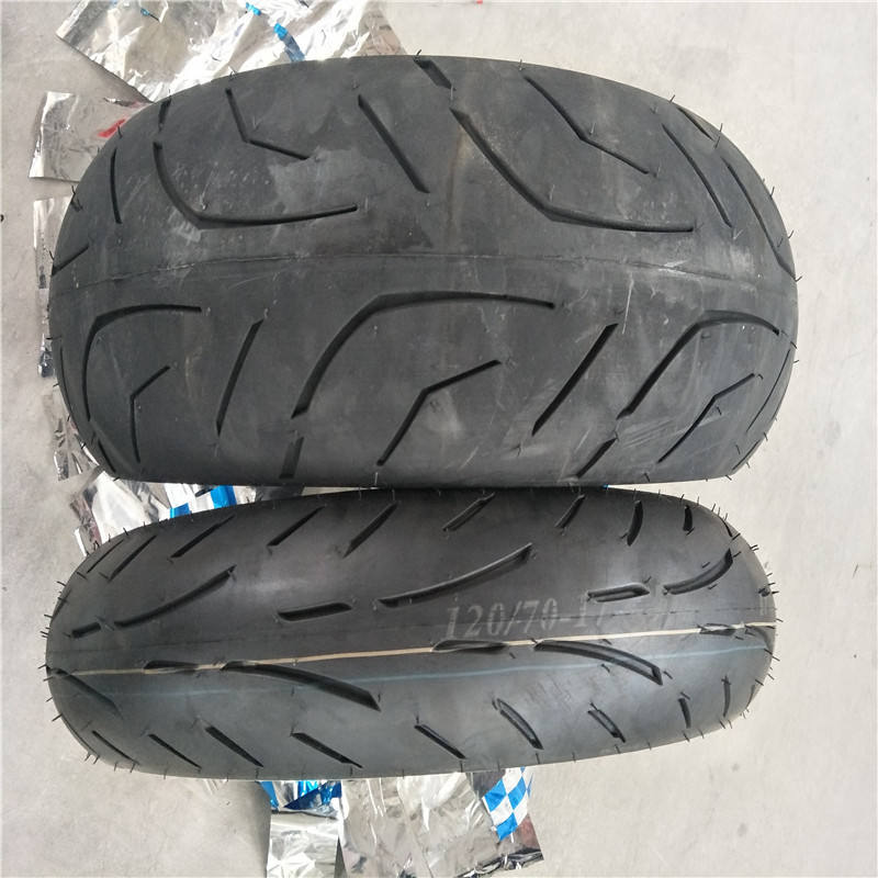 motorcycle tire sizes of 120/70/R17, 180/55/R17, 190/55/R17