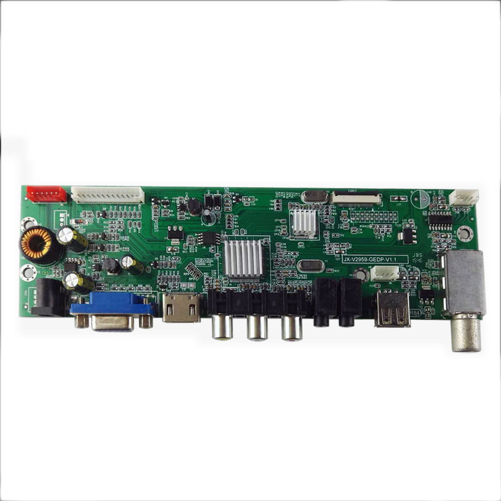 DTV3663 LCD board lcd tv main board with ISDB-T tv