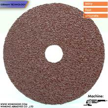 "4"" 100x16mm OA sanding fiber wheel germany fiber disc 80#/120#/320#"