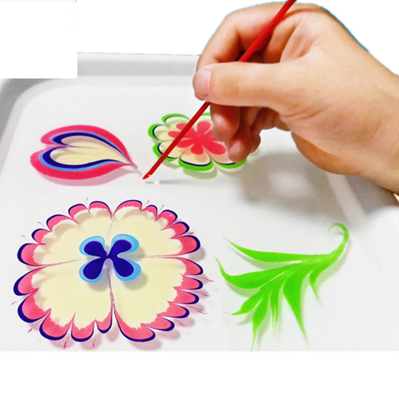 New Design Magic Art Toys Educational Gift Water Marbling Paint
