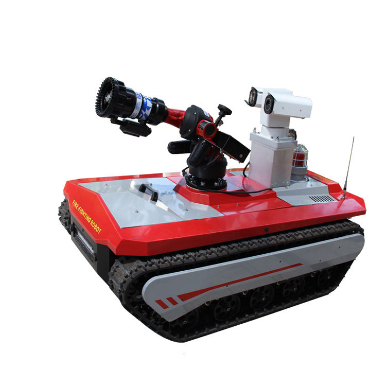 ODETOOLS FR-01 Firefighting Equipment Extingsher Smart Remote Control System Fire fighting Robot For Rescue