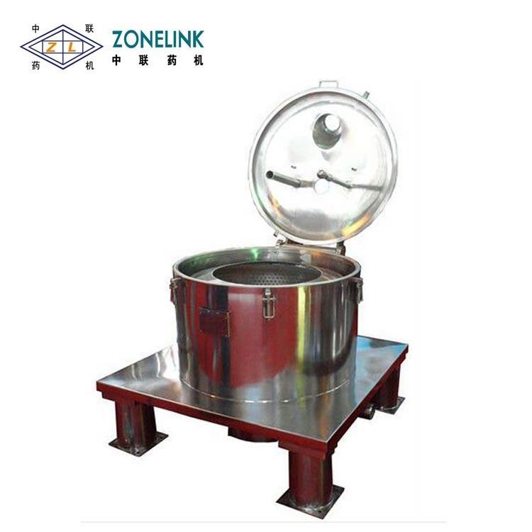 Mini metal chips dewatering centrifuge machine