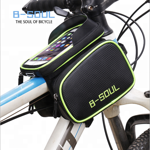 YA0210 Large Dimension Bicycle Accessories Cycling Bike Cellphone Bag Bicycle Top Tube Bag