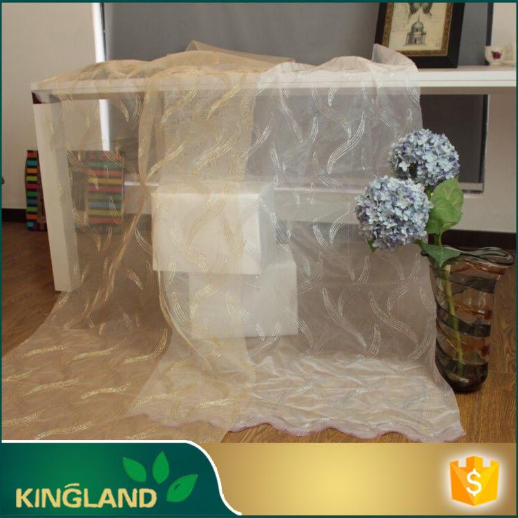 Fournisseur de textile de maison tissé chimique paillettes broderie rideau de <span class=keywords><strong>velours</strong></span> tissu